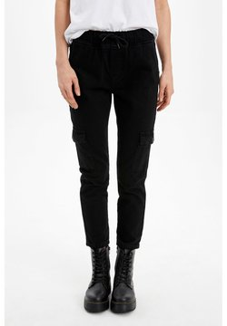 DeFacto - Jeans Relaxed Fit - black
