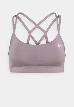 Nike Performance - FAVORITES STRAPPY BRA - Sport-BH mit leichter Stützkraft - purple smoke/white