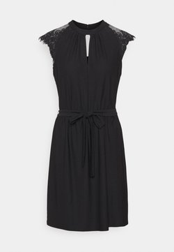 Vero Moda - VMMILLA SHORT DRESS - Cocktailkleid/festliches Kleid - black
