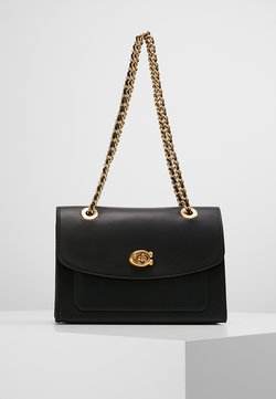 Coach - PARKER SHOULDER BAG - Handtasche - ol/black