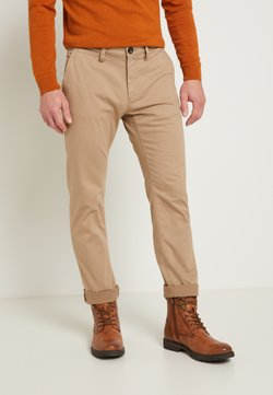TOM TAILOR - STRUCTURE - Chinot - sandy dust beige