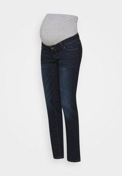 MAMALICIOUS - MLPASO HIGH BACK - Straight leg jeans - dark blue