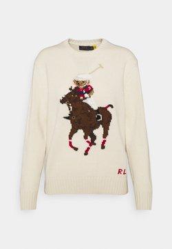 Polo Ralph Lauren - Sweter - cream/multi