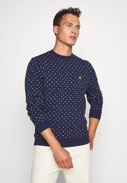 Lyle & Scott - PRINTED - Sweater - navy