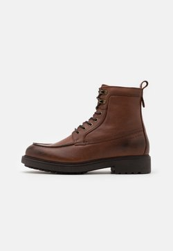 Marc O'Polo - LACE UP BOOT - Schnürstiefelette - cognac