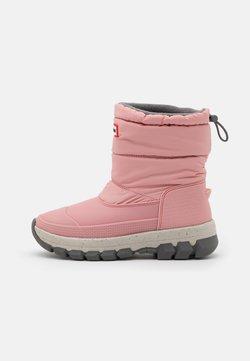 Hunter ORIGINAL - WOMENS ORIGINAL INSULATED SHORT - Bottes de neige - quartz pink