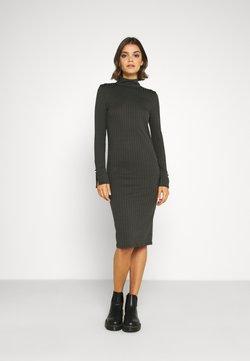 Vero Moda - VMVILJA DRESS - Etui-jurk - tobacco brown