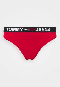 Tommy Hilfiger - THONG CURVE - Perizoma - primary red