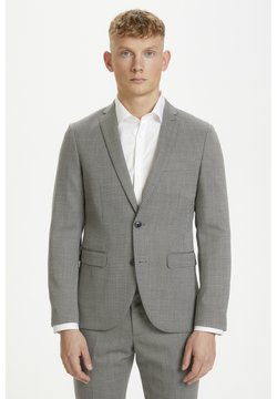 Matinique - RUSTIC DIAMOND SUIT - Anzug - grey