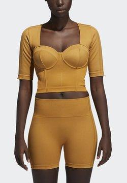 adidas Originals - Ivy Park Circular Knit Square Knit Crop - Top - mesa