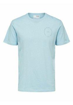 Selected Homme - T-shirt z nadrukiem - dream blue