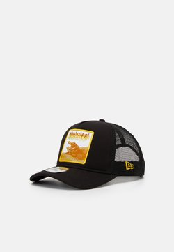 New Era - TRUCKER  - Lippalakki - black/yellow