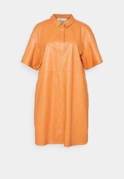 EDITED - CHARLOTTE DRESS - Vestido camisero - orange