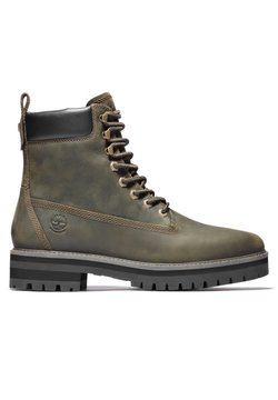 Timberland - COURMA GUY BOOT WP - Schnürstiefelette - olive full grain