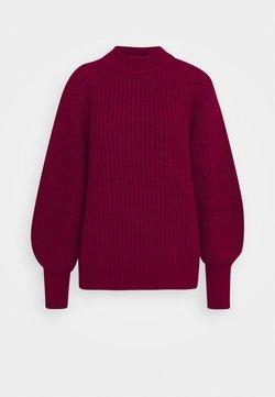 Bruuns Bazaar - FELIPPA MILLIE - Strickpullover - brown bordeaux