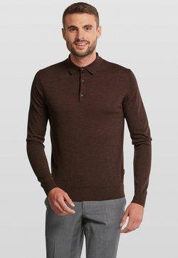 Van Gils - LONGSLEEVE - Poloshirt - dark brown