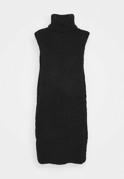 YAS - Stickad klänning - black
