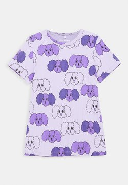 Mini Rodini - FLUFFY DOG UNISEX - T-shirt print - purple