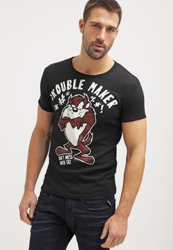 LOGOSHIRT - LOONEY TUNES TROUBLE MAKER - T-shirt print - black