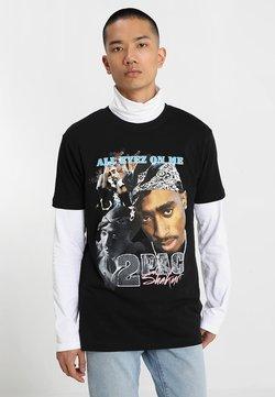 Mister Tee - TUPAC RETRO TEE - T-Shirt print - black