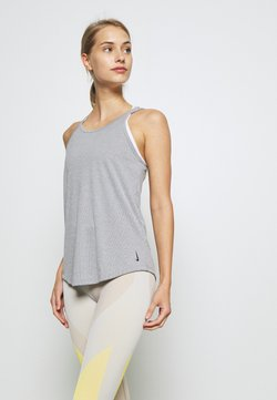Nike Performance - YOGA STRAPPY TANK - Funktionsshirt - black