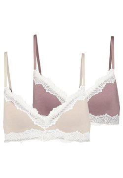 Anna Field - 2 PACK - Triangle bra - nude/pink