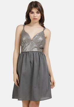 myMo at night - Cocktailkleid/festliches Kleid - grau