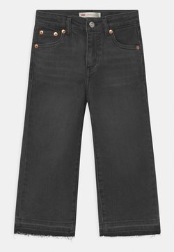 Levi's® - CROPPED WIDE LEG - Jeans Relaxed Fit - black