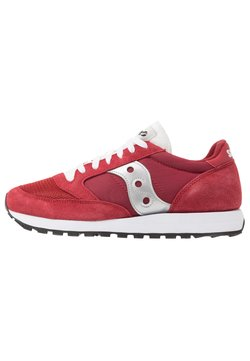 Saucony - JAZZ VINTAGE - Sneaker low - red/white/silver