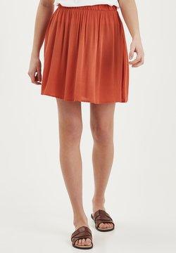 ICHI - IHMARRAKECH - Spódnica plisowana - orange