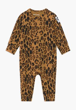 Mini Rodini - BABY BASIC LEOPARD - Overall / Jumpsuit - beige