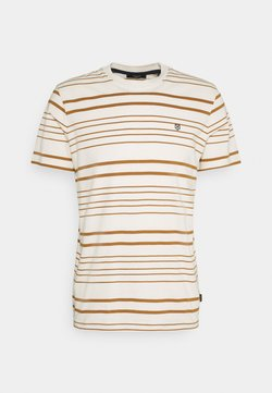 Jack & Jones PREMIUM - JPRJURI - T-Shirt print - egret