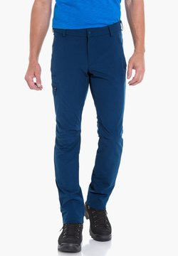 Schöffel - PANTS FOLKSTONE - Stoffhose - blue