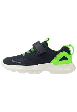 Superfit - RUSH - Sneaker low - blau/grün