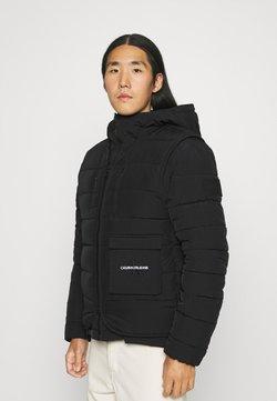 Calvin Klein Jeans - URBAN PUFFER JACKET 2-IN-1 - Talvitakki - black