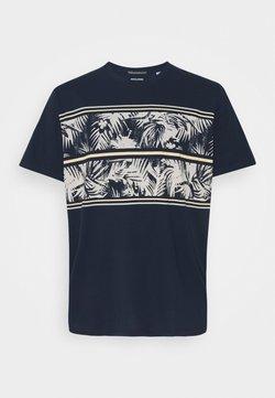 Jack & Jones - JORSUNNYS TEE CREW NECK - T-shirt imprimé - navy blazer