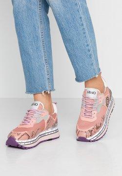 Liu Jo Jeans - MAXI - Sneakers laag - ligh pink