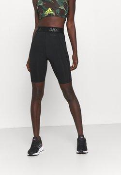 adidas Performance - Legginsy - black