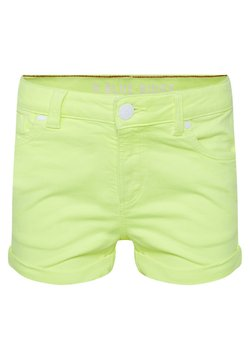 WE Fashion - Jeansshort - bright yellow