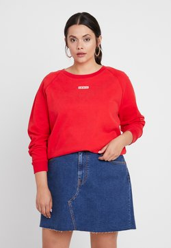 Levi's® Plus - RELAXED GRAPHIC CREW - Sweater - brilliant red