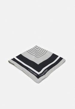 Calvin Klein - SCARF - Chusta - black