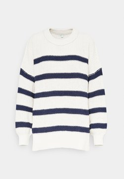 aerie - EXPOSED LINKING CREW - Strickpullover - natural
