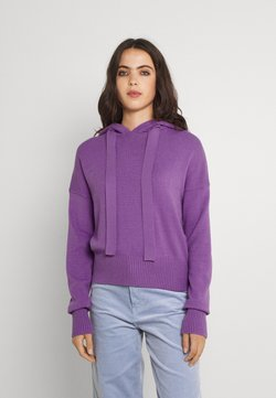 Noisy May - NMSHIP HOODIE - Maglione - orchid