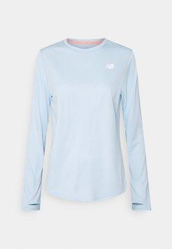 New Balance - ACCELERATE  - Sportshirt - light blue