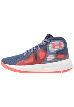 Under Armour - TORCH 2019 - Basketball shoes - blue ink/white/beta