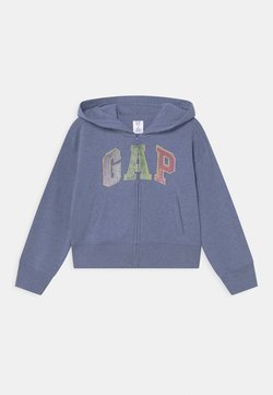 GAP - GIRLS LOGO - Sweatjacke - light blue heather