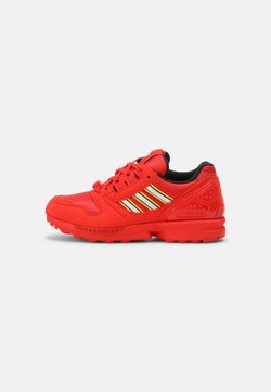 adidas Originals - ZX 8000 LEGO UNISEX - Matalavartiset tennarit - active red/white