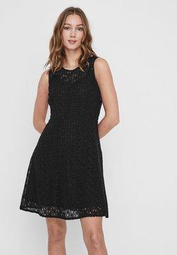 Vero Moda - VMALLIE  - Cocktailkleid/festliches Kleid - black