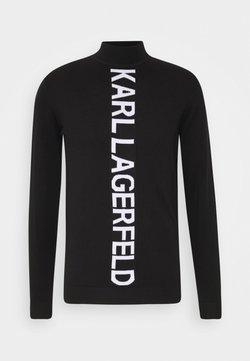 KARL LAGERFELD - Jersey de punto - black/white