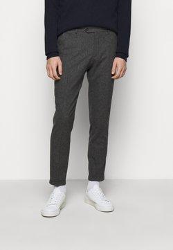 Les Deux - COMO SUIT PANTS - Pantaloni eleganti - charcoal